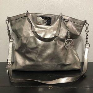Michael Michael Kors Large Leather Shoulder Bag